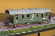 Railway Passenger Car Free Paper Model Download - http://www.papercraftsquare.com/railway-passenger-car-free-paper-model-download.html#138, #PassengerCar, #Railway