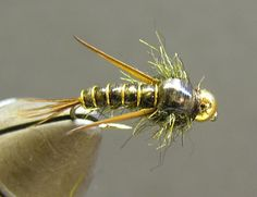The Finished Fly Evil Weevil Nymph Tying Pattern