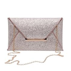 2017 Luxury Shiny Hand Bags Envelope Clutch Bag Glitter Ladies Wedding Bags Evening Bags for Women Party Black Purse handbag