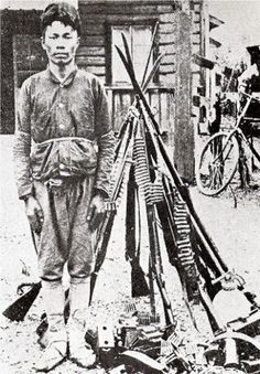 A Korean resistance fighter in Manchuria in the 1930s