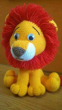 Risultati immagini per bichinhos de croche amigurumi lion, Crochet Lion, Crochet Amigurumi, Crochet Teddy, Amigurumi Patterns, Amigurumi Doll, Crochet Dolls, Crochet Animal Patterns, Stuffed Animal Patterns, Crochet Crafts