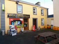 Morahan's, Ballinagare, Co. Roscommon. The Morahans have been running this pub since 1641. This is the longest that an establishment has been run by the same family in Ireland.