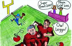 GOP Super Bowl 2012 (from Daily Cal: http://www.dailycal.org/2012/02/07/gop-super-bowl-2012/)