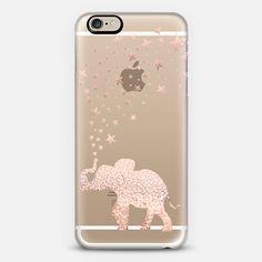 HAPPY ELEPHANT ROSÈ by Monika Strigel  - Classic Snap Case