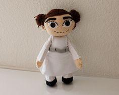 Star Wars Princess Leia Inspired Felt Doll by markhamasylum, $45.00