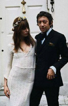 Serge and Jane. Xk #kellywearstler #myvibemylife #bridal #wedding #janebirkin