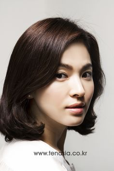 TENASIA, Song Hye Kyo. Not my fave pic of her,  but I like her hair.