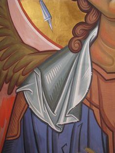 Розпис кафедрального собору (купо.. Religious Images, Religious Icons, Religious Art, Byzantine Icons, Byzantine Art, Order Of Angels, Icon Clothing, Creativity Exercises, Art Icon