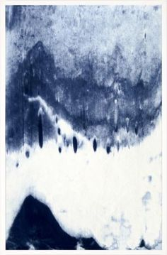 Abstracted Landscape, Blue 4 | Natural Curiosities Dining Room or Kitchen