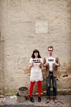 Hipster Valentines Day Wedding Ideas | Ruffled