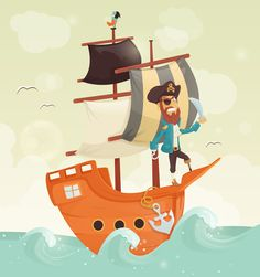 Illustrations & Characters by Andra Popovici, via Behance
