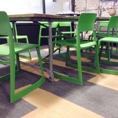green plastique