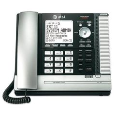 cool AT&T MS2085 na 1-Handset 4-Line Landline Telephone AT&T www.amazon.com/...... Phone systems CEOofWoW Resale Store-Text Books,Toys, Electronics, Household & Hard To Find Items For Sale!