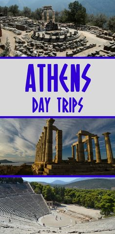 Some of the most popular day trips from Athens include trips to Delphi, Sounion, Mycenae and Epidaurus. Start planning your vacation in Greece here! #greece #athens