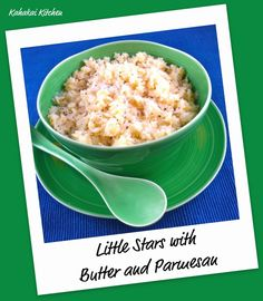 Giada's Little Stars with Butter and Parmesan The perfect recipe for ...
