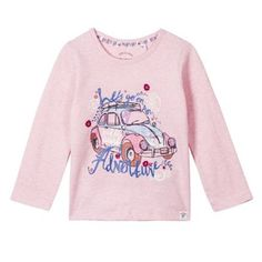 Mantaray Girl's pink beetle t-shirt- at Debenhams.com