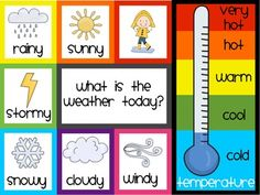 Students will love looking up the weather and temperature with this FREE and easy to use poster! I'm going to print it out on card stock and then p...