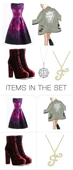 """""""Funtime Foxy #7"""" by remus-paris-black on Polyvore featuring art"""