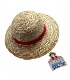 Sombrero de Luffy del manga One Piece. Si eres un auténtico fan de One Piece no podrás escapar a esta réplica del genial sombrero de Luffy.