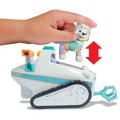 ¡Chollo! Patrulla Canina Motonieve de Everest vehículo de rescate para nieve con figura por 22,78 euros.
