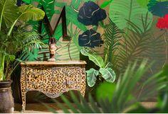Попугаи и леопарды, цветы и камуфляж. Тропический вояж от Moissonnier на выставке Maison&Objet — 2014.