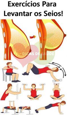Os 6 Exercícios Milagrosos Para Levantar os Seios!  #saúde  #fitness  #mulher  #exercise  #exercisefitness  #beleza  #estetica