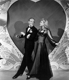 Fred Astaire and Marjorie Reynolds. Holiday Inn (1942).
