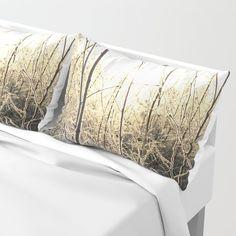 Winter sunlight Pillow Sham by minnac Pillow Shams, Bed Pillows, Sunlight, My Photos, Winter, Design, Pillowcases, Pillows, Winter Time