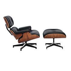 Eames lounge stoel. Lounge zwart. Design Outlet.