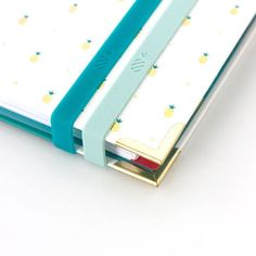 Emily Ley Stretchy Bands - Teal and Mint – Paper Luxe Emily Ley, Simplified Planner, Sorority Bid Day, Greek Gifts, Desk Supplies, Office Accessories, Inspirational Gifts, Color Pop, Baby Gifts
