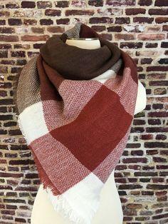 Chocolate Surprise Blanket Scarf – URBAN MAX LLC