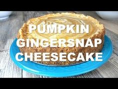 Pumpkin Swirl Gingersnap Cheesecake, You found it! The best cheesecake recipe ever. A wonderful Fall treat or addition to the holiday dessert table. Pumpkin Swirl Cheesecake, Best Cheesecake, Winter Desserts, Holiday Desserts, Holiday Baking, Christmas Baking, Baking Recipes, Dessert Recipes, Yummy Recipes