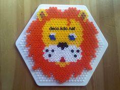 DECO.KDO.NAT: Perles hama: lion