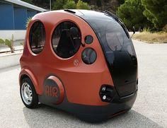 Airpod concept car. Runs on compressed air.