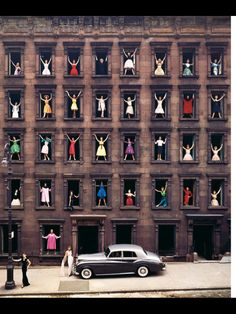 Girls in the Windows by Ormond Gigli, 1960. I want the poster of this one day.