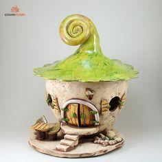 Windlichter - Keramik Windlicht Maxi Gartenkeramik - ein Designerstück von kreativwerkstatt-fleury bei DaWanda
