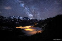 Milky Way over the clouds by Paolo Pettigiani on 500px