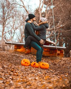 Have you tried to curve pumpkins outdoors when it's only And what about a photo shoot after that? It's not easy, trust us 😅 Simply Life, Have You Tried, Couple Goals, Pumpkins, Annie, Love Story, Whale, Photo Shoot, Trust