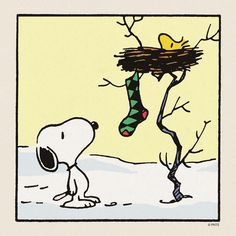 Woodstock's Christmas Stocking