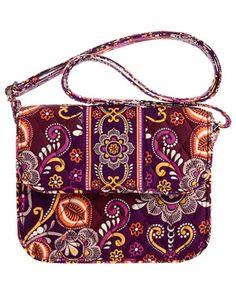 Vera Bradley Metropolitan Specialty Shoulder Bag In Safari Sunset 34