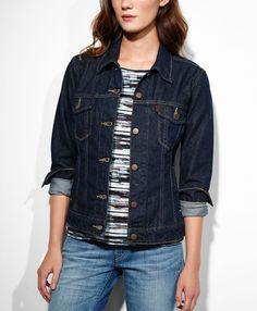 Levi's Trucker Jacket - Rinsed Dark - Jackets & Vests