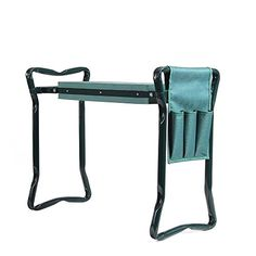 Ohuhu Garden Kneeler and Seat with 2 Bonus Tool Pouches, Foldable Garden Bench Stools, Portable Kneeler for Gardening Gardeners Lawn And Garden, Garden Tools, Home And Garden, Garden Seat, Garden Edging, Kneeling Stool, Tool Pouch, Thing 1, Gardening Gloves