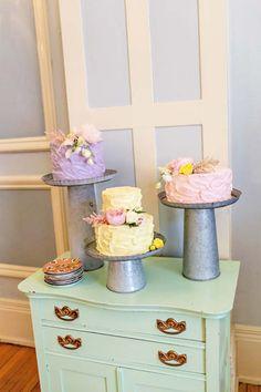 Vintage Pastel Wedding Inspiration