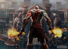 Kratos é o personagem principal da franquia de jogos God of War, desenvolvida e publicada pela Sony Computer Entertainment (ou SCE) e sua primeira aparição foi em 2005 para PlayStation