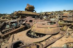 These Abandoned Tanks Are Rusting Mementoes of the Wars of the Past