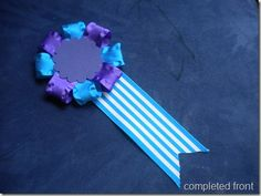 Love this tutorial on how to make rosettes from ribbon. Great for horse riding or pony party. DSCN3315