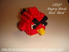 Instructional Video on How to Build LEGO Angry Birds, Red Bird