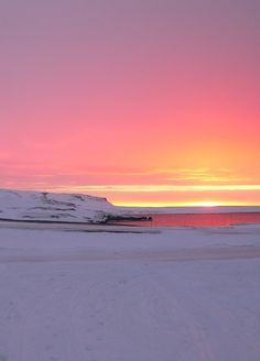 Photo of the Day: Sunset, Arctic Norwegian Islands.  Still taken from National Geographic Classic Collection: World's Deadliest DVD.
