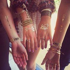 music festival bohemian bracelet tattoos #t4aw #temporarytattoo #justinbieber #tattoo