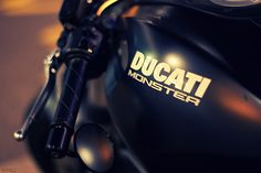 Ducati Monster - I've always loved this bike but it was designed for shorter guys than me.